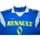 1985/1986 Renault Auray Adidas Ventex Match Worn No.5 Home