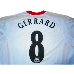 2005/2006 Liverpool Gerrard 8 Away
