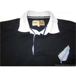 1987 New Zealand All Blacks 'World Cup' Retro Home