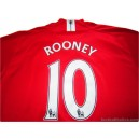 2007/2009 Manchester United Rooney 10 Home