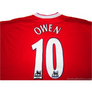2002/2004 Liverpool Owen 10 Home