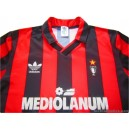 1990/1991 AC Milan 'European Cup' Home