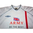 2001/2003 British Army FA Match Worn No.14 Home