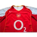 2004/2005 Arsenal Home