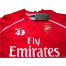 2006/2008 Arsenal Player Issue No.43 Performance Shell Top