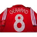 2006/2008 Liverpool Gerrard 8 Champions League Home