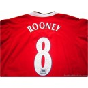 2004/2006 Manchester United Rooney 8 Home