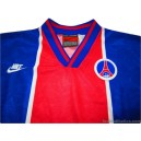 1995/1996 Paris Saint Germain 'Cup Winners Cup Final' Player Issue Home