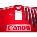 1991/1993 Adidas Vintage 'Canon' Match Issue No.15 Shirt