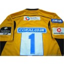 2008/2009 London Wasps Match Worn No.1 Away