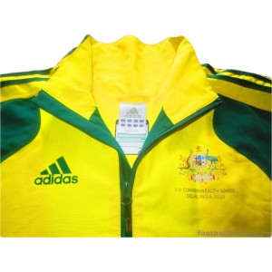 2010 Australia 'Commonwealth Games' Player Issue Anthem Jacket