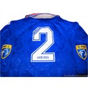 1996-97 Rangers Match Worn No.2 Home