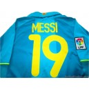 2007-09 FC Barcelona Messi 19 Away Shirt