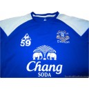 2011-12 Everton Player Issue No.59 Training Shirt