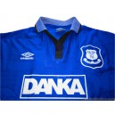 1995-97 Everton Kanchelskis 17 Home Shirt