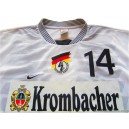 1998 Germany 'Super Cup' Match Worn No.14 Home Shirt v France