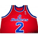1994-95 Washington Bullets Webber 2 Road Jersey