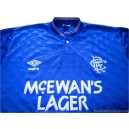 1987-90 Rangers Home Shirt