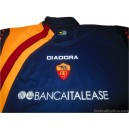 2005-06 AS Roma Player Issue Fourth Shirt