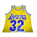 1991-92 Los Angeles Lakers Johnson 32 Home Jersey