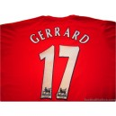 2004-06 Liverpool Gerrard 17 Home Shirt