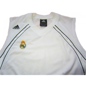 2006-07 Real Madrid Baloncesto Home Jersey