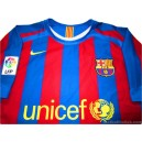 2005-06 FC Barcelona Prototype Home Shirt