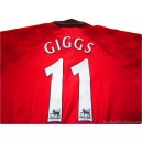 1996-98 Manchester United Giggs 11 Home Shirt