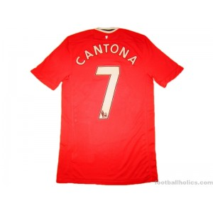 2011-12 Manchester United Cantona 7 Home Shirt