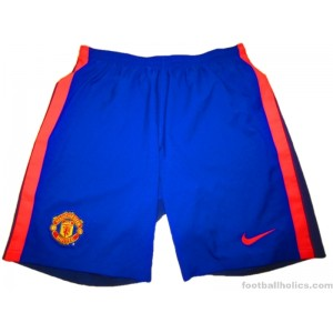 2014-15 Manchester United Player Issue Third Shorts