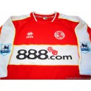 2006-07 Middlesbrough '20 Years' Home Shirt