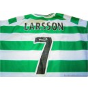 2001-03 Celtic Larsson 7 Home Shirt