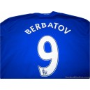 2008-09 Manchester United Berbatov 9 Third Shirt