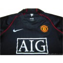 2007-08 Manchester United Away Shirt
