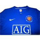2008-09 Manchester United Third Shirt