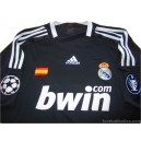 2008-09 Real Madrid Champions League Third Shirt