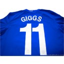 2008-09 Manchester United Giggs 11 Champions League Third Shirt