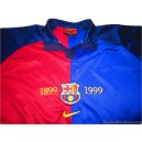 1999-2000 FC Barcelona Centenary Home Shirt