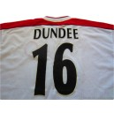 1998-99 Liverpool Match Issue Dundee 16 Uefa Cup Away Shirt v Valencia