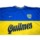 2000-01 Boca Juniors Home Shirt