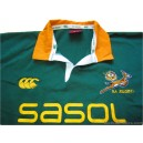 2004-05 South Africa Springboks Pro Home Shirt