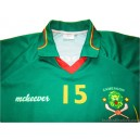 2005-07 Cameroon (Camarún) Match Worn No.15 Home Shirt