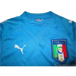 2009 Italy 'Confederations Cup' Home Shirt