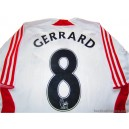 2007-08 Liverpool Gerrard 8 Away Shirt
