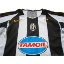 2004-05 Juventus Champions League Home Shirt