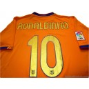 2006-08 FC Barcelona Ronaldinho 10 Away Shirt