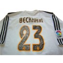 2003-04 Real Madrid Beckham 23 Home Shirt