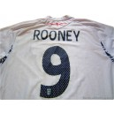 2007-09 England Rooney 9 Home Shirt