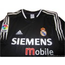 2004-05 Real Madrid Away Shirt