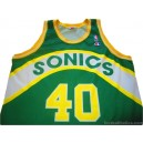1992-95 Seattle SuperSonics Kemp 40 Road Jersey